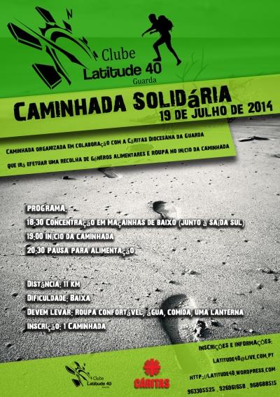 caminhada solidaria latitude40 2014